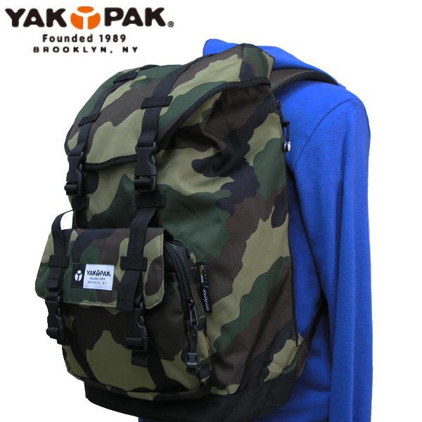 ヤックパック YAK PAK バッグ リュック Seasonal Wrap入荷 CAMO 限定価格セール YP2026