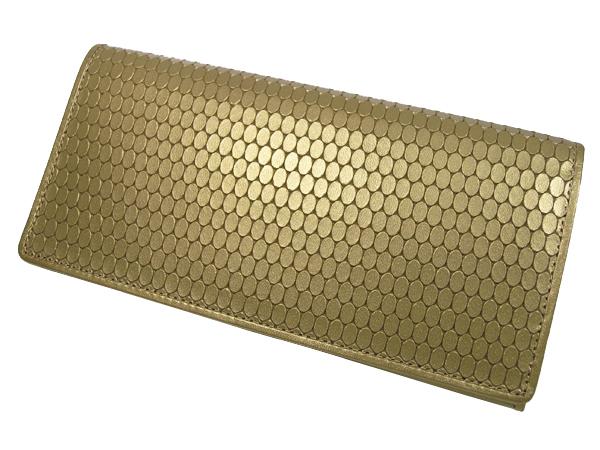 【送料無料】長財布 MEGA屯型押し長財布 103144 財布 サイフ 牛革使用 日本製