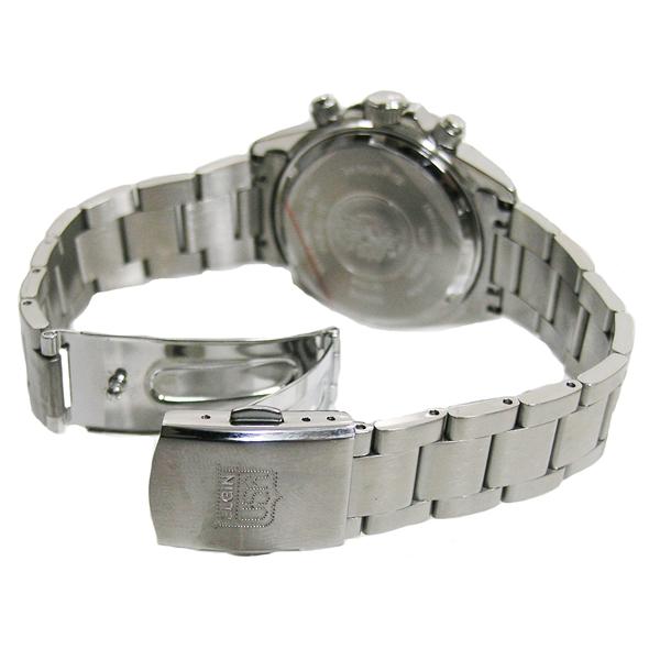 エルジン/ELGIN クロノグラフ 20気圧防水 メンズ腕時計 FK1059S-B