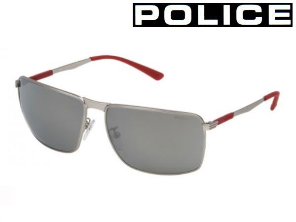 送料無料 【POLICE】ポリス サングラス SPL345I 0581