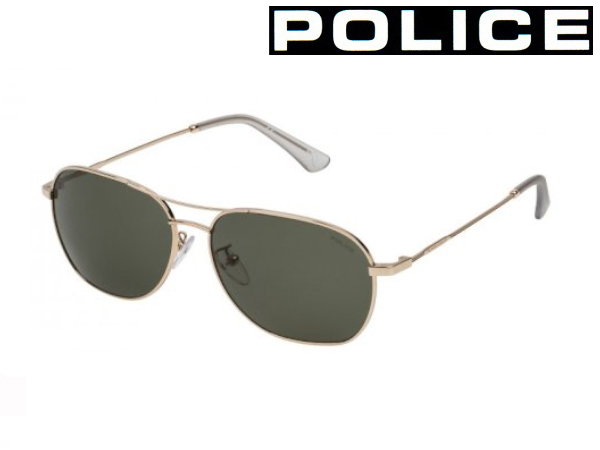 送料無料 【POLICE】ポリス サングラス SPL358I 0349