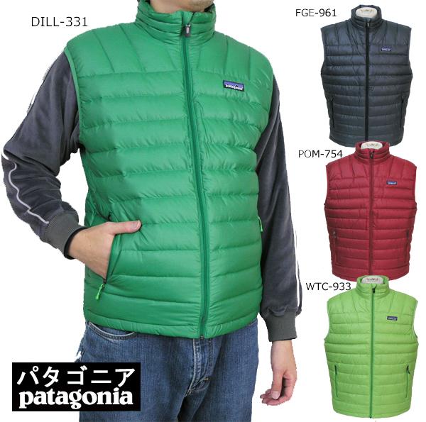 パタゴニア patagonia ダウンセーターベスト 84621 Sweater Vest 安全 アウトレット Down M'ens