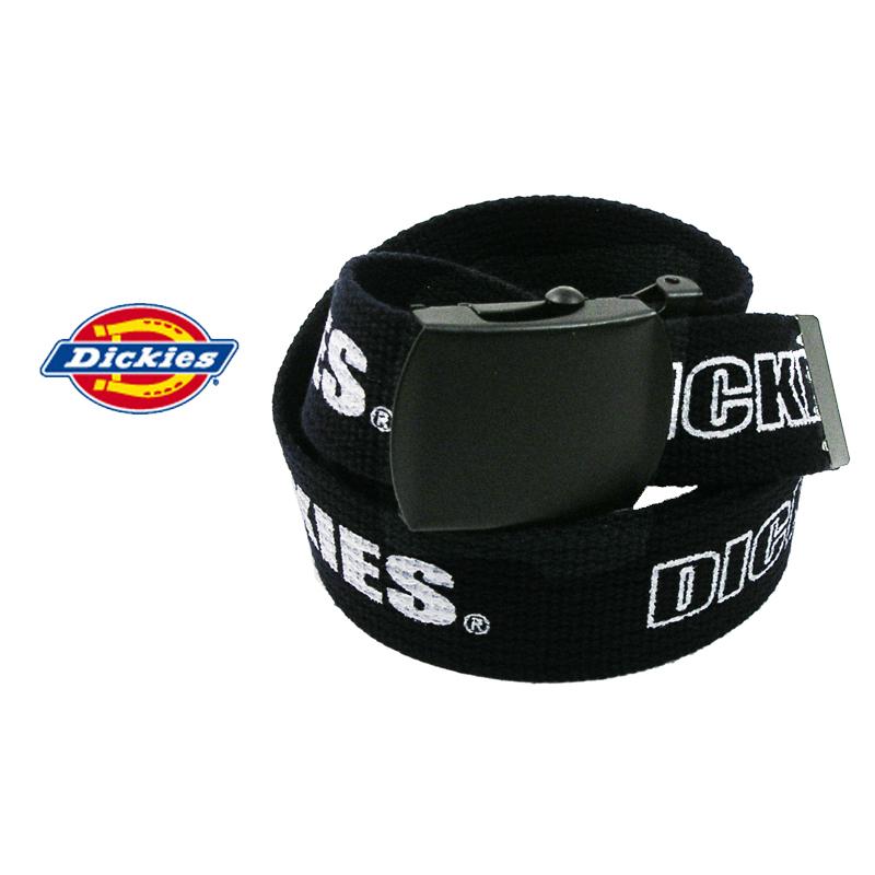 超特価 DICKIES ディッキーズ GIベルト GI メンズ DS0876I ロゴネームプリント 本物 ガチャベルト