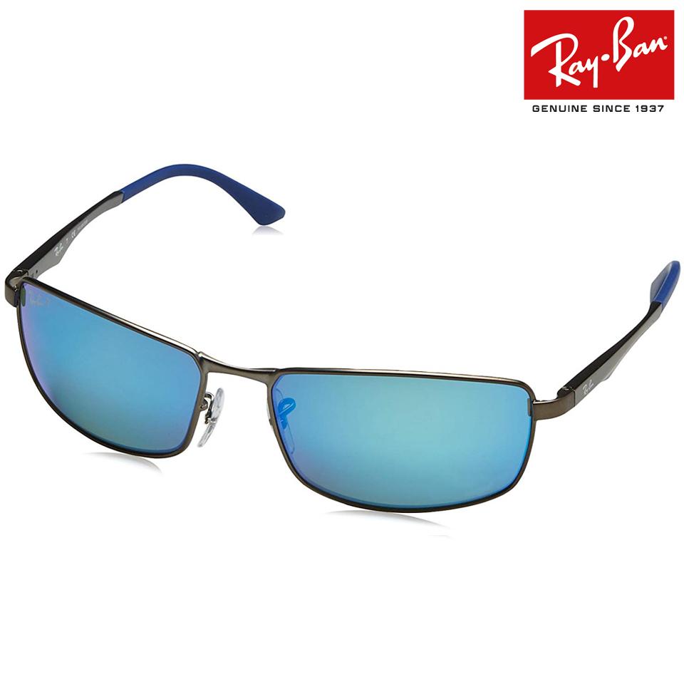 送料無料 RayBan/レイバン 偏光レンズ サングラス RB3498 029/9R 61サイズ