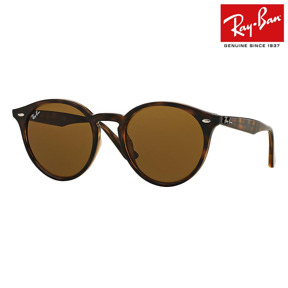 送料無料 RayBan/レイバン サングラス ブラウンクラッシック RB2180F 710/73 49サイズ