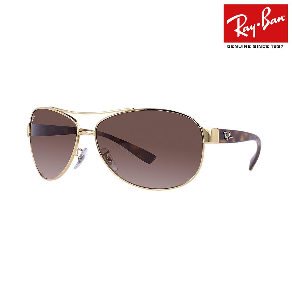 送料無料 RayBan/レイバン サングラス RB3386 001/13 67サイズ