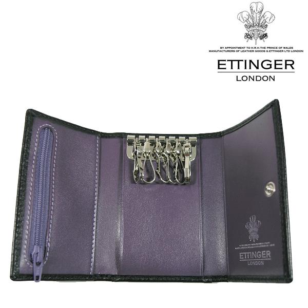 送料無料 エッティンガー/ETTINGER 6連 キーケース メンズ ST2095JR-PURPLE