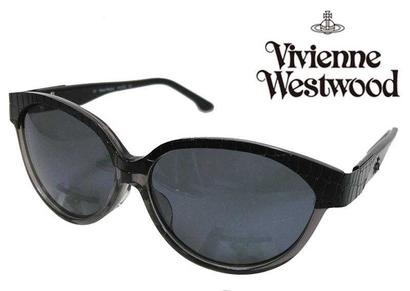 【送料無料】【VivienneWestwood】ヴィヴィアンウエストウッド サングラス アッパーライン VW-3702 CG