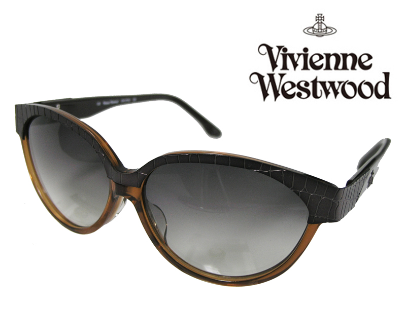 【送料無料】【VivienneWestwood】ヴィヴィアンウエストウッド サングラス アッパーライン VW-3702 CB