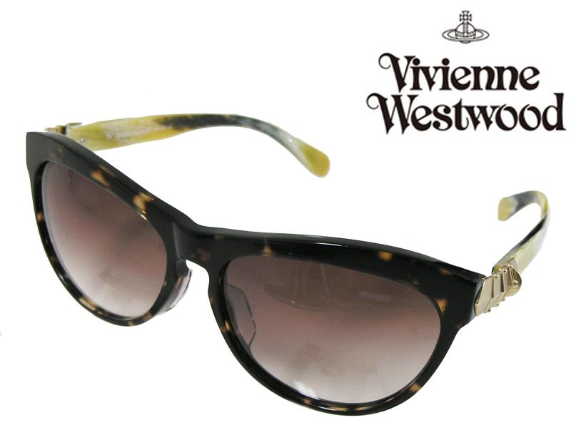【送料無料】【VivienneWestwood】ヴィヴィアンウエストウッド サングラス アッパーライン VW-3705 CH