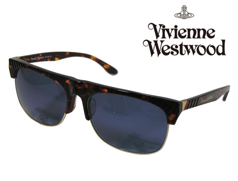 【送料無料】【VivienneWestwood】ヴィヴィアンウエストウッド サングラス アッパーライン VW-3706 BD