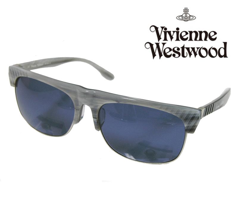 【送料無料】【VivienneWestwood】ヴィヴィアンウエストウッド サングラス アッパーライン VW-3706 BY