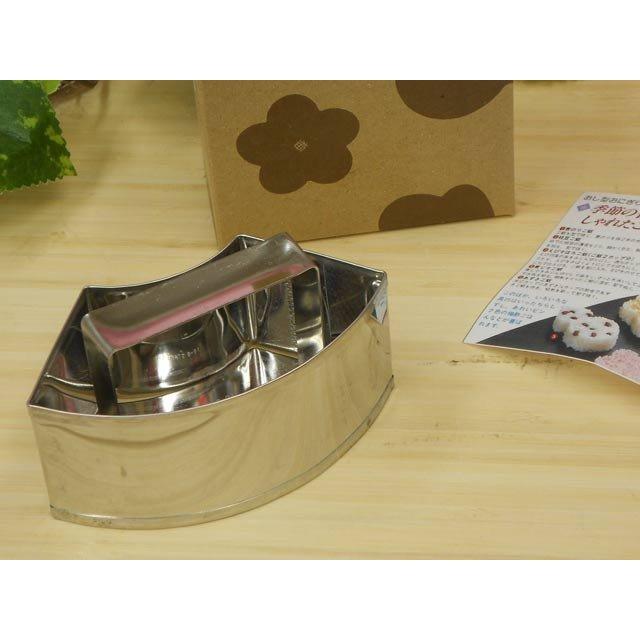 タイガークラウン 贈与 ST押し型おにぎり器 商店 1685 扇