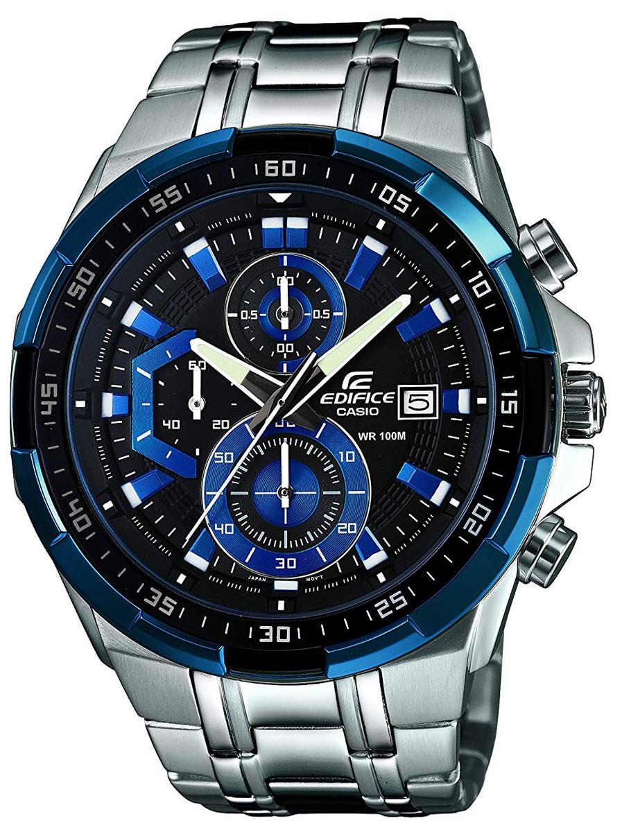 送料無料 カシオ CASIO エディフィス クオーツ メンズ腕時計 EFR-539D-1A2 逆輸入