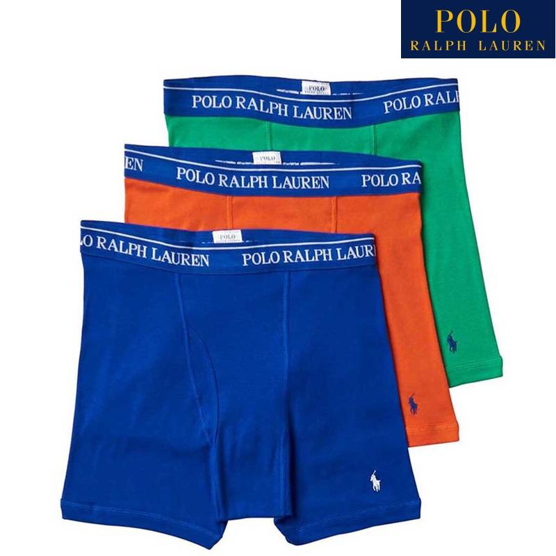POLO RALPH LAUREN ポロ ラルフローレン ボクサーパンツ 3枚セット 価格 男性用 QH0 RCBBH3 Mサイズ 賜物 下着 メンズ