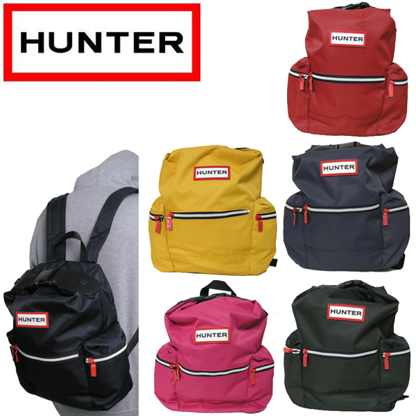 ハンター 特売 受注生産品 HUNTER バッグ バックパック UBB6018ACD BACKPACK ORG M NYLON TOPCLIP