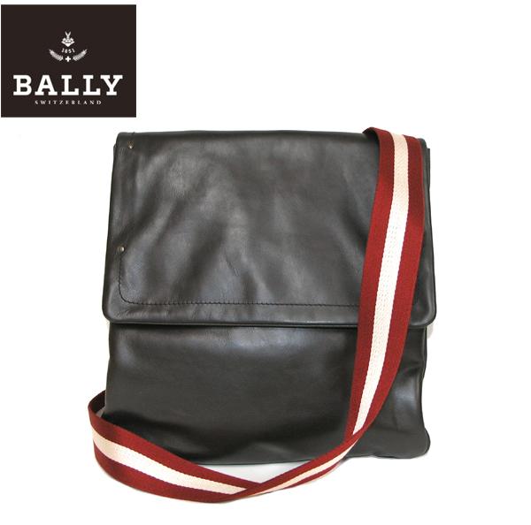 ワケアリ【送料無料】★BALLY(バリー)レザ-ショルダーバッグ TAMIKO-01 CHOCOLATE CALF PLAIN