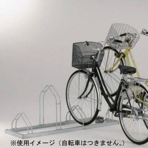 【送料無料】【代引き・同梱不可】【取り寄せ】 ダイケン 自転車ラック平置き前輪差込 サイクルスタンドCS-M4