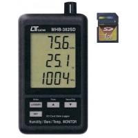 【送料無料】【取り寄せ】 デジタル温湿度・気圧計 MHB-382SD【代引き不可】