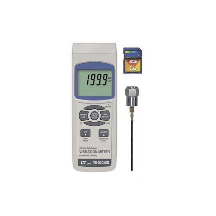 【送料無料】【取り寄せ】 SDカードデータロガデジタル振動計 VB-8205SD【代引き不可】