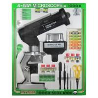 【送料無料】【取り寄せ】 ミザール 学習顕微鏡セット ズーム1000 【代引き不可】