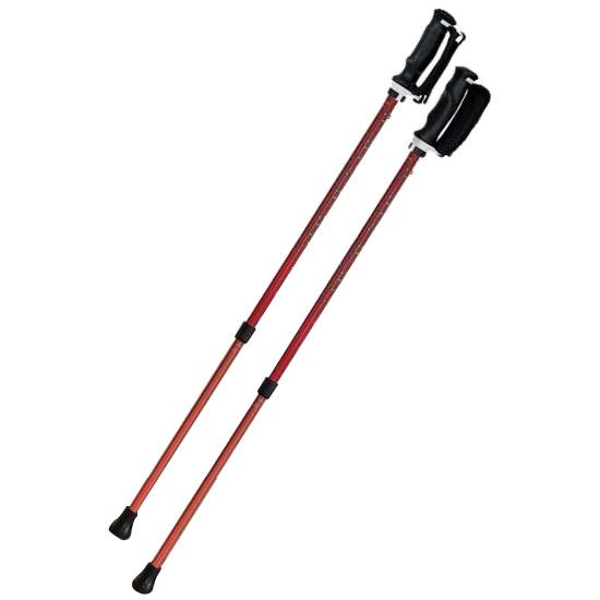 送料別 【取り寄せ】 SINANO シナノ ウォーキングポール もっと安心2本杖 パンサー【代引き不可】