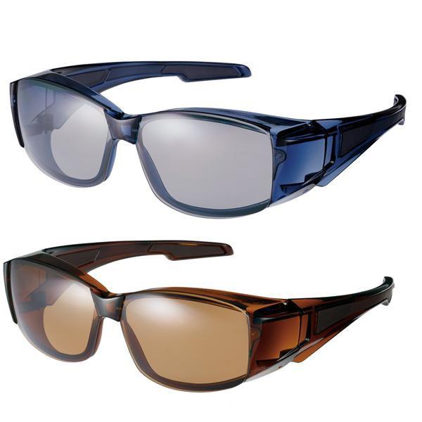送料別 【取り寄せ】 山本光学 SWANS(スワンズ) Over Glasses(オーバーグラス) フレームレスタイプ 偏光レンズ OG-6 日本製【代引き不可】