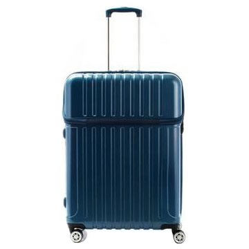 【送料無料】【取り寄せ・同梱注文不可】 協和 ACTUS(アクタス) スーツケース トップオープン トップス Lサイズ ACT-004 ブルーカーボン・74-20332【代引き不可】【autumn_D1810】