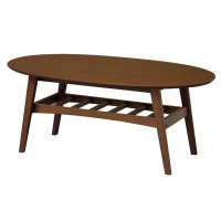 【送料無料】【代引き・同梱不可】【取り寄せ】 emo.(エモ)Living Table(Surf) EMT-2577 BR