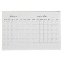 【送料無料】【代引き・同梱不可】【取り寄せ】 馬印 MR series(エムアールシリーズ)壁掛 予定表(カレンダー)ホワイトボード W910×H610mm MR23W