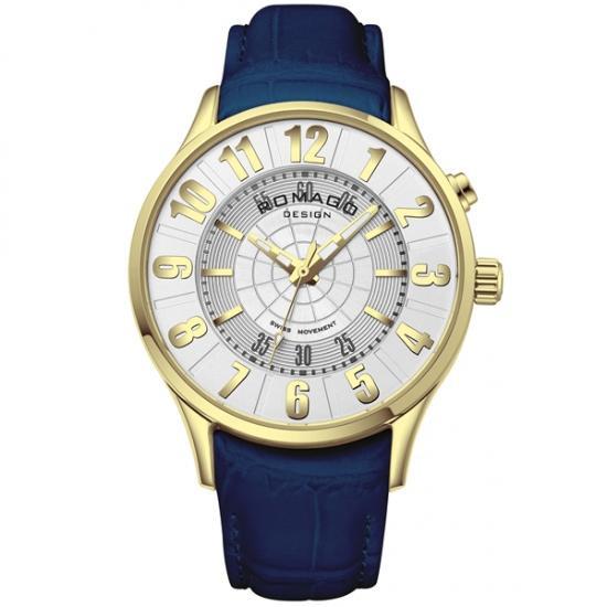 【取り寄せ・同梱注文不可】 ROMAGO DESIGN (ロマゴデザイン) Numeration series ヌメレーションシリーズ 腕時計 RM068-0053ST-GDBU【代引き不可】【thxgd_18】