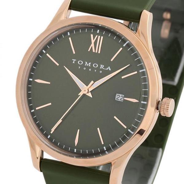 【取り寄せ・同梱注文不可】 TOMORA TOKYO(トモラ トウキョウ) 腕時計 T-1605-PGR【代引き不可】【thxgd_18】
