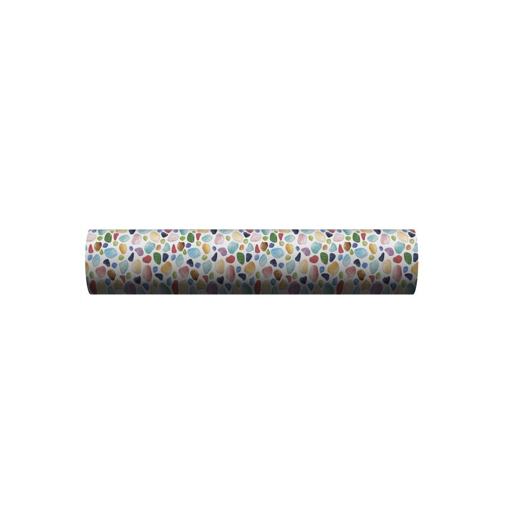 【取り寄せ・同梱注文不可】 貼ってはがせる!床用 リノベシート ロール物(一反) ブルー(カラフルガラス) 90cm幅×20m巻 REN-06R【代引き不可】【thxgd_18】