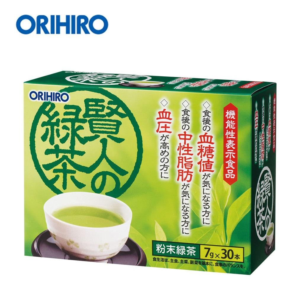 210 g of green tea (*30 7 g) of the ORIHIRO functionality indication food wise man according to the postage 60503094
