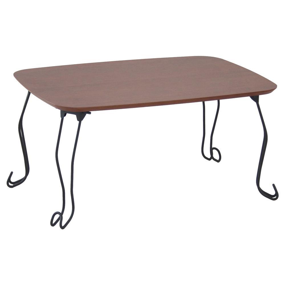 【代引き・同梱不可】【取り寄せ・同梱注文不可】 Canele Table 折りたたみテーブル 猫脚 ブラウン T-2986BR【thxgd_18】【お歳暮】【クリスマス】