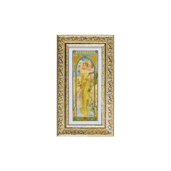 【取り寄せ・同梱注文不可】 ART FRAMES アルフォンス ミュシャ 昼の輝き AM-07512【thxgd_18】【お歳暮】【クリスマス】