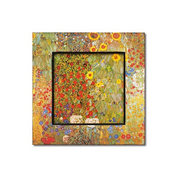 送料別 【取り寄せ】 ユーパワー Big Art ビッグアート 名画ハイグロスシリーズ クリムト 「サンフラワー」 BA-08506【代引き不可】
