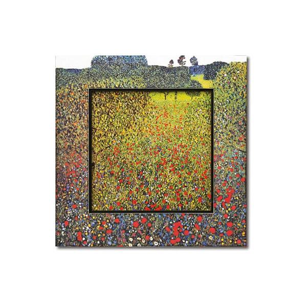送料別 【取り寄せ】 ユーパワー Big Art ビッグアート 名画ハイグロスシリーズ クリムト 「フィールド オブ ポピー」 BA-08507【代引き不可】