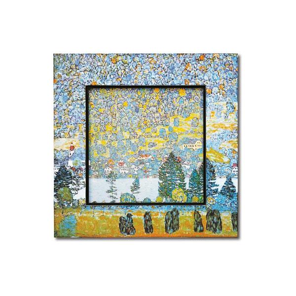 送料別 【取り寄せ】 ユーパワー Big Art ビッグアート 名画ハイグロスシリーズ クリムト 「マウンテン スロープ」 BA-08509【代引き不可】