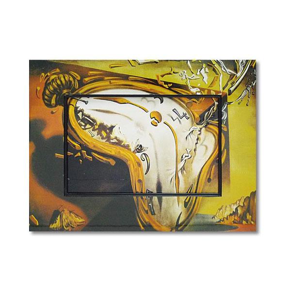 送料別 【取り寄せ】 ユーパワー Big Art ビッグアート 名画ハイグロスシリーズ ダリ 「柔らかい時計」 BA-08517【代引き不可】