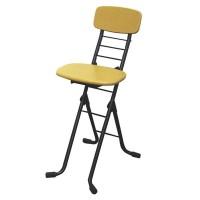 送料別 【代引き・同梱不可】【取り寄せ】 ルネセイコウ リリィチェアM(折りたたみ椅子) ナチュラル/ブラック 日本製 完成品 CSM-320T