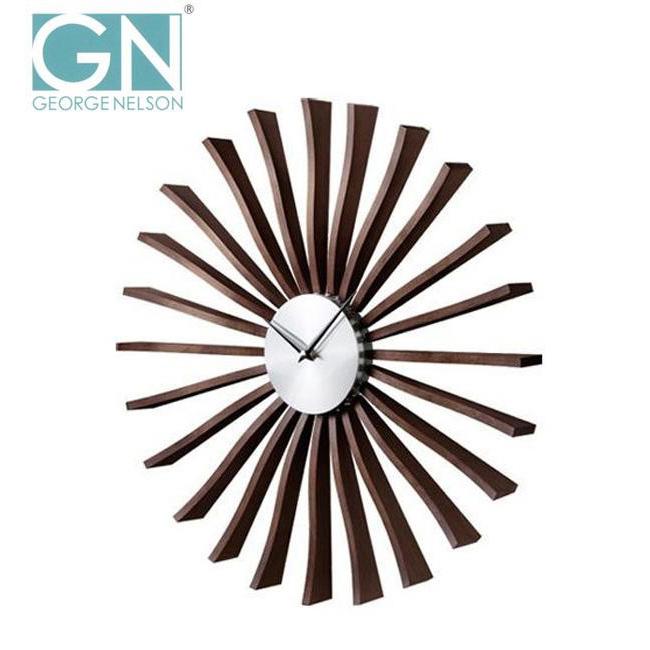 【送料無料】【取り寄せ】 George Nelson ジョージ・ネルソン 壁掛け時計 フラッター・クロック GN001【代引き不可】