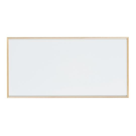 【送料無料】【代引き・同梱不可】【取り寄せ・同梱注文不可】 馬印 木枠ボード ホワイトボード 1800×900mm WOH36【thxgd_18】
