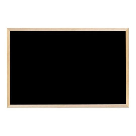 【送料無料】【代引き・同梱不可】【取り寄せ】 馬印 木枠ボード ブラックボード 900×600mm WOEB23