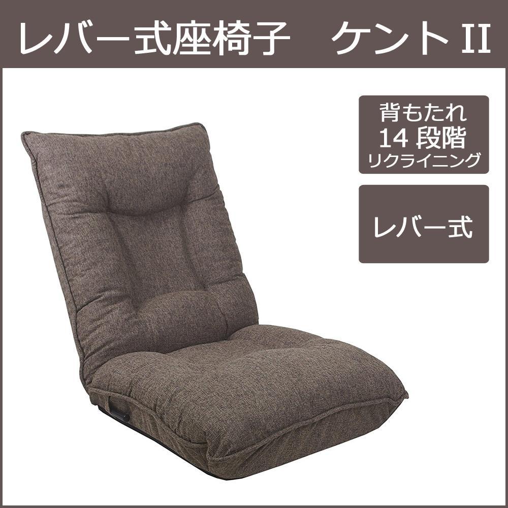 【送料無料】【取り寄せ】 レバー式座椅子 ケントII 14段階リクライニング【代引き不可】, 東京商会:b6232f0d --- onlinesoft.jp