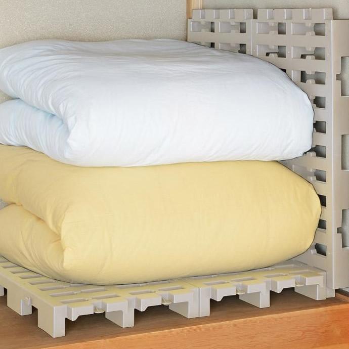 送料別 【代引き・同梱不可】【取り寄せ】 日本製 プラスチックすのこ マルチパレット 10個組 GP-210102