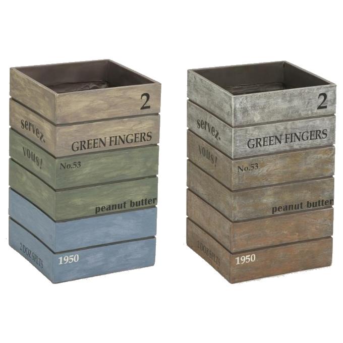 送料別 【取り寄せ】 セトクラフト 傘立て(Antique Box)【代引き不可】