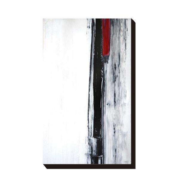 【送料無料】【取り寄せ・同梱注文不可】 アートパネル T30 Gallery Black and White Abstract Art Painting IAP-51603【代引き不可】【thxgd_18】