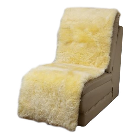 送料別 【取り寄せ】 ムートン椅子カバー 50×160cm MG750【代引き不可】