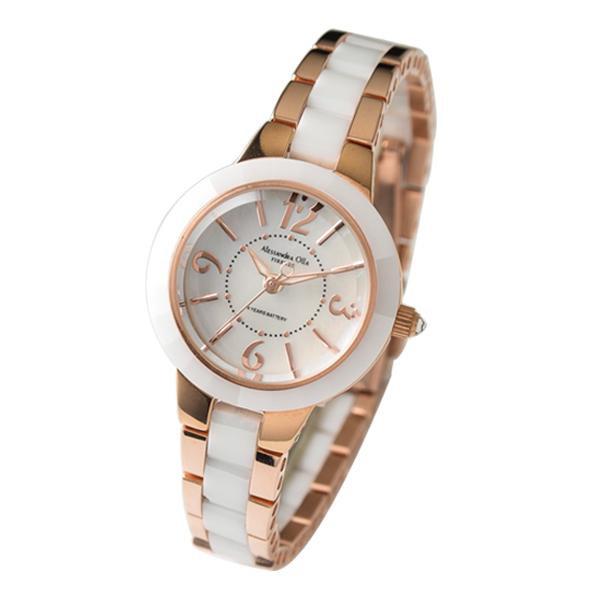 【取り寄せ・同梱注文不可】 アレサンドラオーラ Alessandra Olla 腕時計 AO-1450-1【thxgd_18】【お歳暮】【クリスマス】